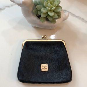 Dooney & Bourke - vintage kiss lock coin purse